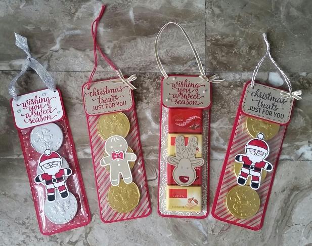 Christmas craft fair makes hanging sweet treats with for Things to make for christmas craft fairs
